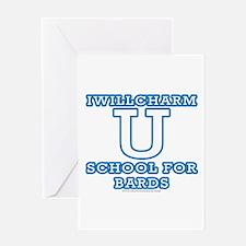 Iwillcharm University Greeting Card