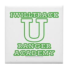 Iwilltrack University Tile Coaster
