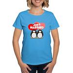 Just Married Penguins Women's Dark T-Shirt