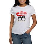 Just Married Penguins Women's T-Shirt