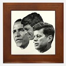 Obama - Kennedy (JFK, RFK) Framed Tile