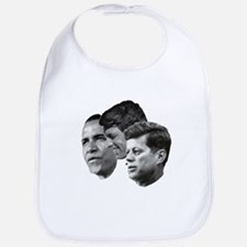 Obama - Kennedy (JFK, RFK) Bib