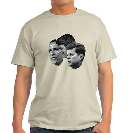 Obama - Kennedy (JFK, RFK) Light T-Shirt