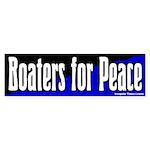 Boaters for Peace Bumper Sticker