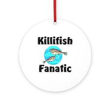 Killifish Fanatic Ornament (Round)