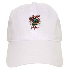 Butterfly Idaho Baseball Cap