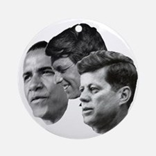 Obama - Kennedy (JFK, RFK) Ornament (Round)