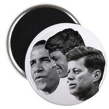 Obama - Kennedy (JFK, RFK) Magnet