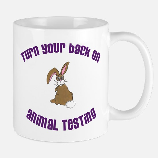 Rabbit turn yr back (ASPCA) Mug