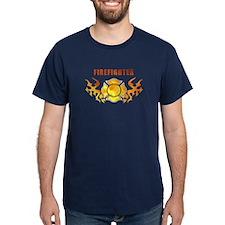 Firefighter Tattoo T-Shirt