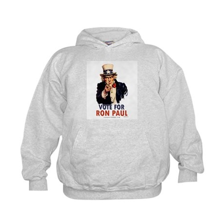 Uncle Sam Ron Paul Kids Hoodie