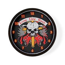Long Live Rock Wall Clock