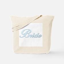 Bride (Blue) Tote Bag