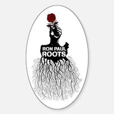 Ron Paul Roots Oval Decal