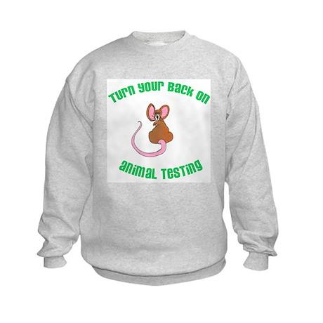 Rat turn yr back (ASPCA) Kids Sweatshirt