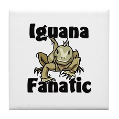 Iguana Fanatic Tile Coaster