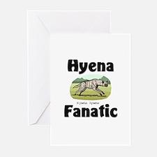 Hyena Fanatic Greeting Cards (Pk of 10)