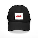 Softball Nerd Black Cap