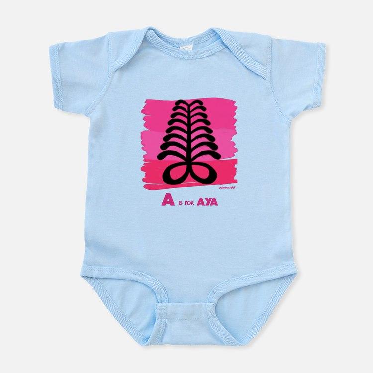 A is for Aya Infant Bodysuit