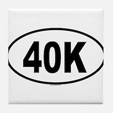 40K Tile Coaster