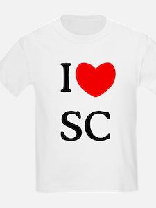 """""""I Love South Carolina"""" T-Shirt"""
