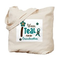 I Wear Teal For My Grandmother 12 Tote Bag