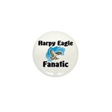 Harpy Eagle Fanatic Mini Button (10 pack)