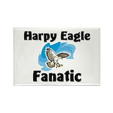 Harpy Eagle Fanatic Rectangle Magnet