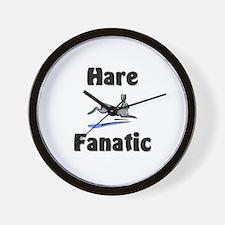 Hare Fanatic Wall Clock