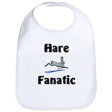 Hare Fanatic Bib