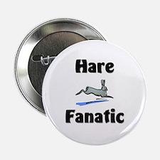 """Hare Fanatic 2.25"""" Button"""