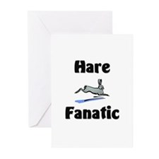 Hare Fanatic Greeting Cards (Pk of 10)