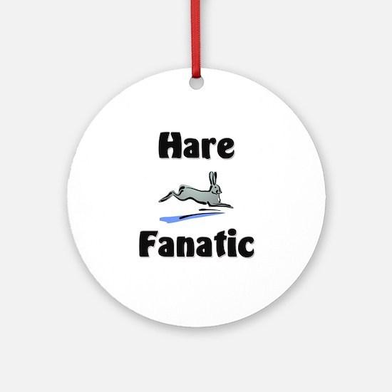 Hare Fanatic Ornament (Round)