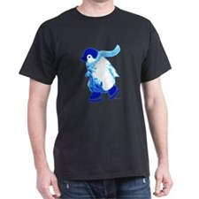 Blue Penguins On Ice T-Shirt