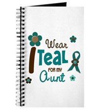 I Wear Teal For My Aunt 12 Journal