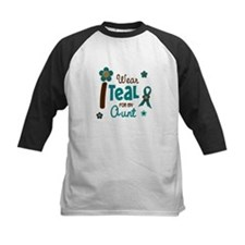 I Wear Teal For My Aunt 12 Tee