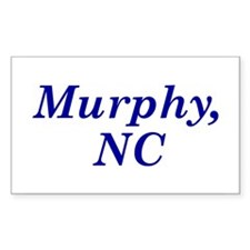 Murphy, NC Rectangle Decal