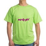 Nerdy Girl Green T-Shirt