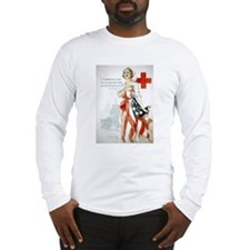 Red Cross Comradeship Long Sleeve T-Shirt