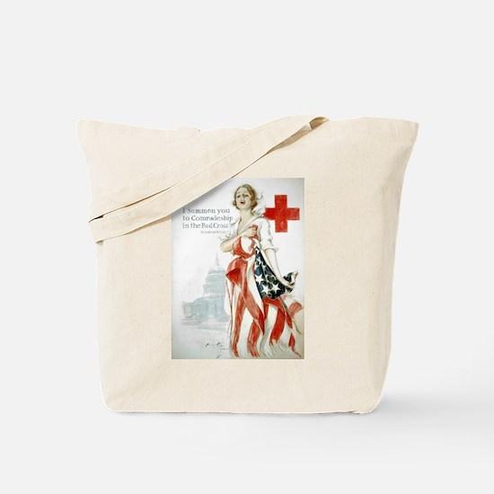 Red Cross Comradeship Tote Bag