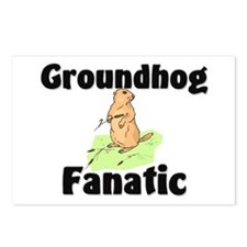 Groundhog Fanatic Postcards (Package of 8)