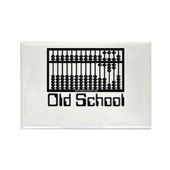 Old School Rectangle Magnet (100 pack)
