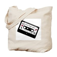 Love Songs Mix Tape Tote Bag