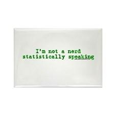 Statistically Speaking Rectangle Magnet