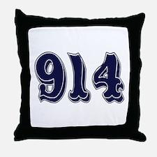 914 Throw Pillow