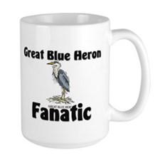 Great Blue Heron Fanatic Mug