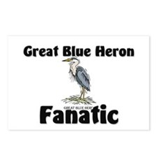 Great Blue Heron Fanatic Postcards (Package of 8)