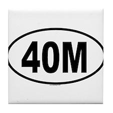 40M Tile Coaster