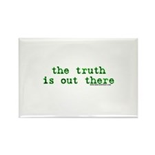 The Truth Is Out There Rectangle Magnet (100 pack)