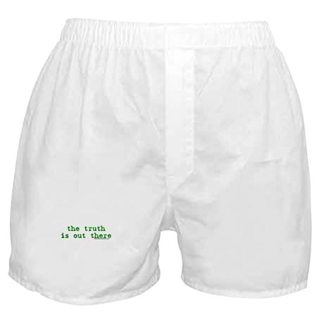 The Truth Is Out There Boxer Shorts